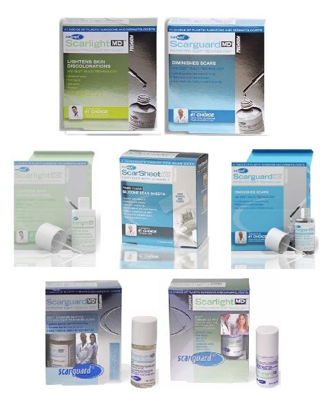 Bộ sản phẩm trị sẹo lồi, sẹo phì đại, trị seo thâm, nám da, rạn da hiệu quả nhất thế giới